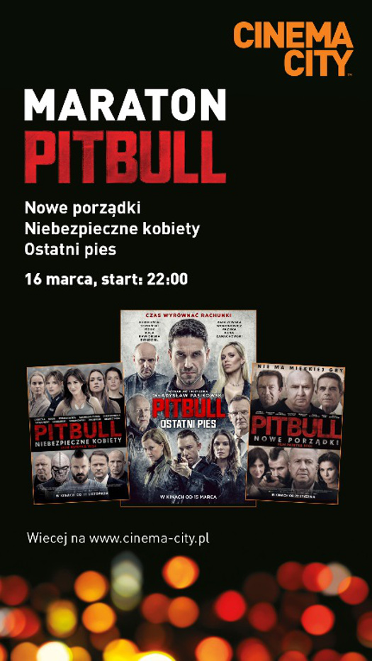 Maraton Pitbulla w Cinema City