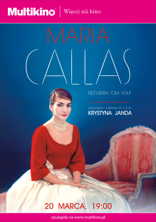 Dokument o Marii Callas w Multikinie