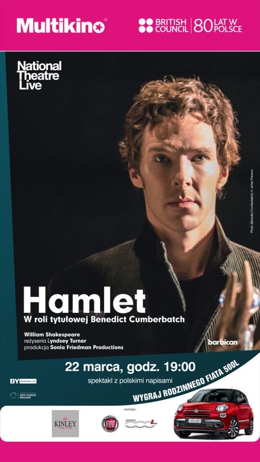 """""""Hamlet"""" z Benedictem Cumberbatchem w Multikinie"""