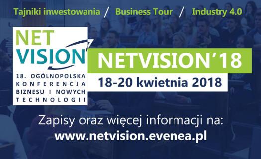 Ogólnopolska Konferencja Biznesu i Nowych Technologii NetVision