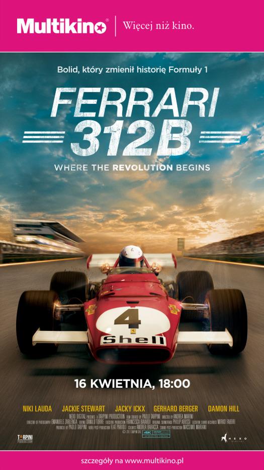 Bolid, który zmienił historie Formuły 1 - Ferrari 312B