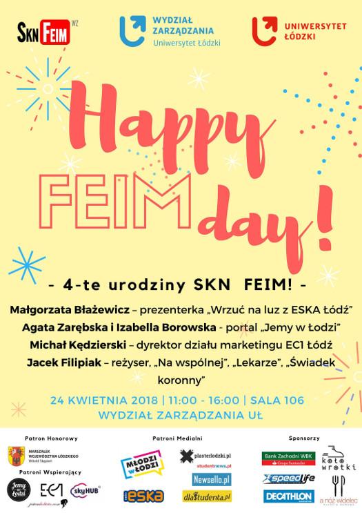 Happy FEIMday!