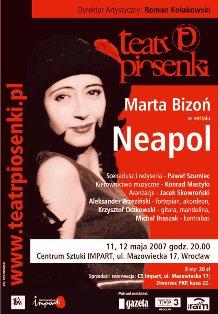 """Neapol"" - recital Marty Bizoń"