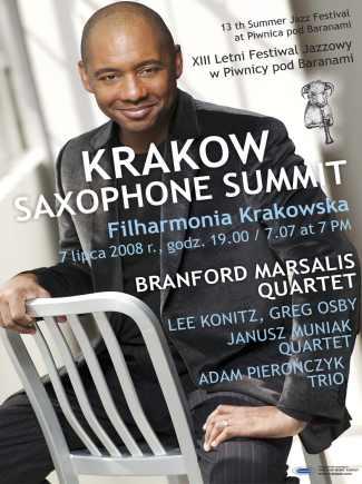 Krakow Saxophone Summit - XIII Festiwal Jazzowy
