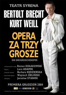 """""""Opera za trzy grosze"""" w Teatrze Syrena"""