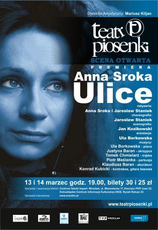 """recital A.Sroki - """"Ulice"""""""