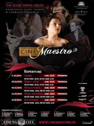 Cinemaestro:Don Giovanni- premiera