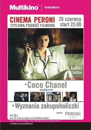 Maraton Cinema Peroni w Multikinie Arkady