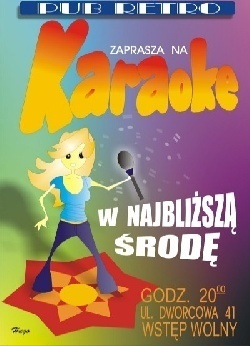 Karaoke w Retro