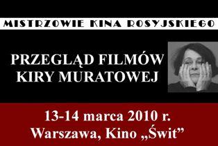 Przeglad filmów Kiry Muratowej