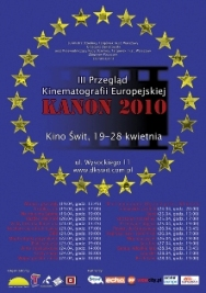 III Przegląd Kinematografii Europejskiej Kanon `10