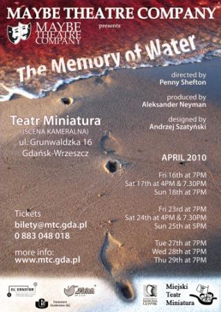 """The Memory of Water"""