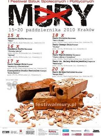 """Festiwal """"Mury 1980-2010"""" - dzień 1"""