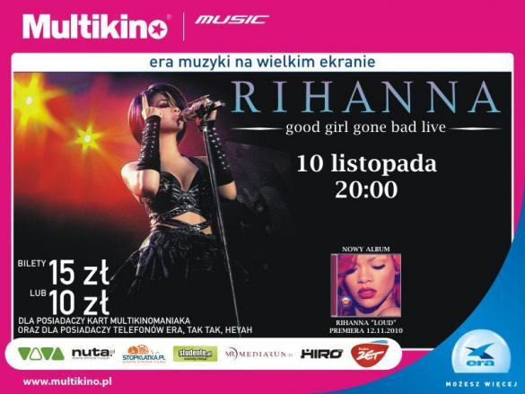 Koncert Rihanny na dużym ekranie