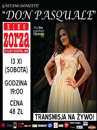 """""""Don Pasquale"""" - Opera na wielkim ekranie"""