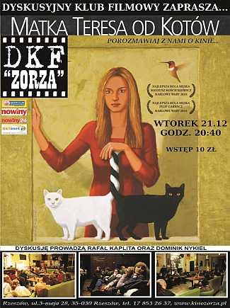 """DKF Zorza - """"Matka Teresa od kotów"""""""