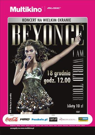 Koncert Beyonce na Wielkim Ekranie