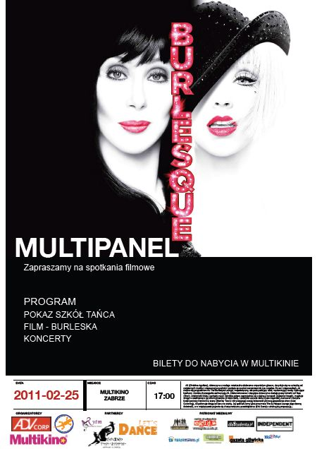 """Multipanel 2011 z premierą """"Burleski"""""""