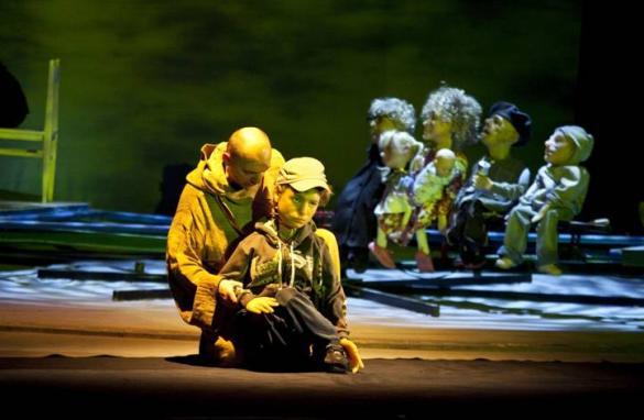 """Projekt ,,Rekolekcje"""" w Teatrze Lalek"""