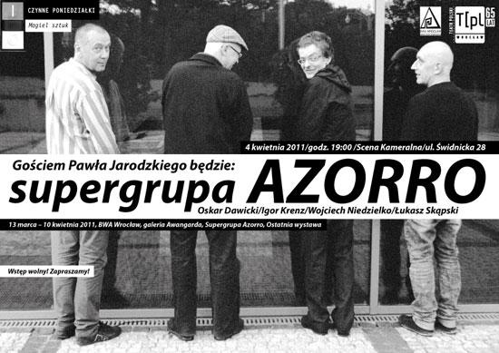 Supergrupa Azorro w Teatrze Polskim