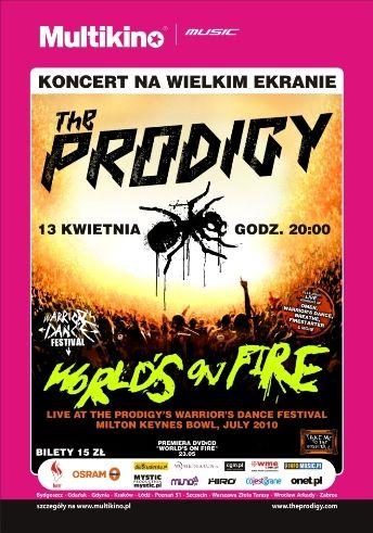 Koncert Prodigy na dużym ekranie
