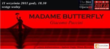 Madame Butterfly w Kinie Zorza