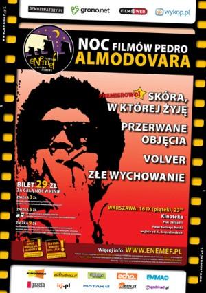 ENEMEF: Noc Filmów Pedro Almodovara