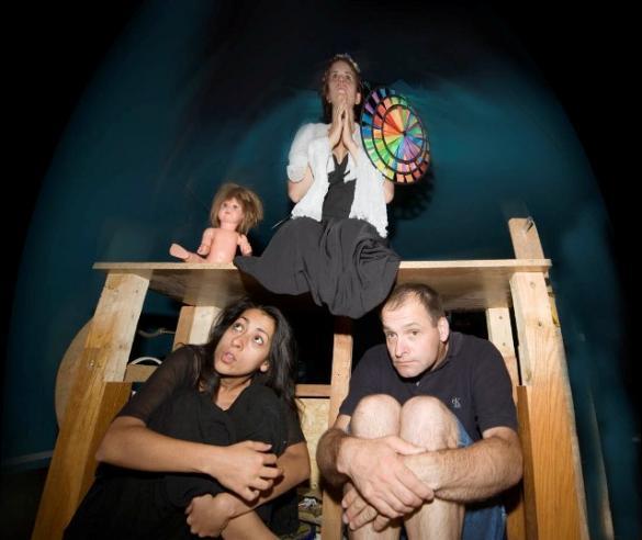 Teatr Arka: W pośpiechu do nieba