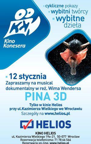 Kino Konesera: Pina 3D