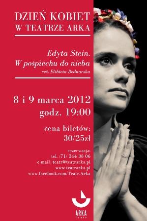 Teatr Arka - Pasjonująca Edyta Stein dla kobiet