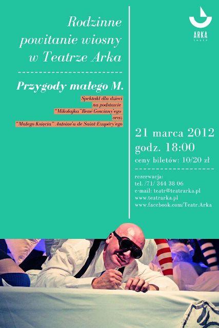 Teatr Arka na pierwszy dzień wiosny