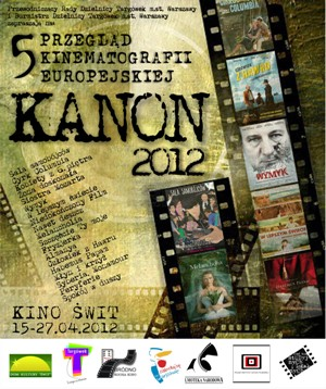 5 Przegląd Kinematografii Europejskiej Kanon 2012