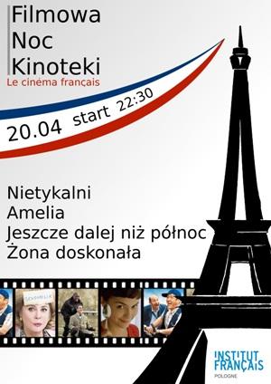Filmowa Noc Kinoteki - kino francuskie
