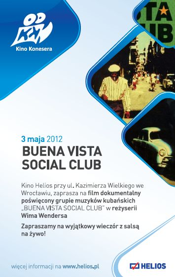 Kino Konesera: Buena Vista Social Club
