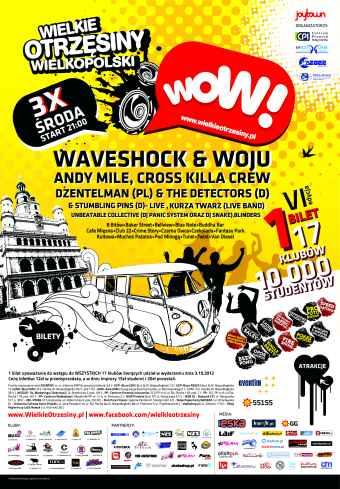 WOW! - Wielkie Otrzęsiny Wielkopolski 2012