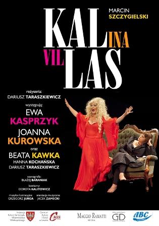 """Spektakl """"Kallas"""" w Teatrze Bagatela"""