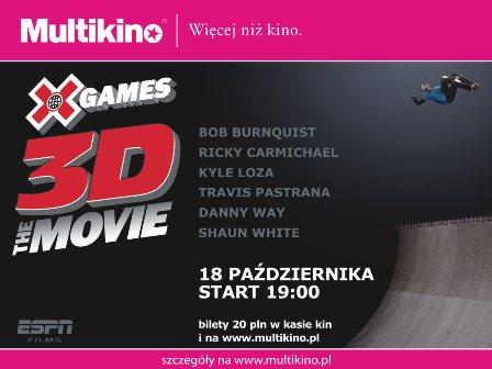 """Film """"X-Games"""" 3D"""