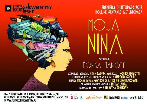 """""""Moja Nina"""" - premiera w Teatrze Konsekwentnym"""