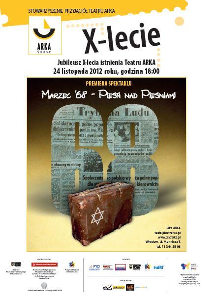 X-lecia Stowarzyszenia Przyjaciół Teatru Arka
