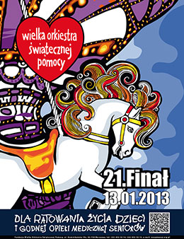 21. Finał WOŚP 2013 w Kielcach - program