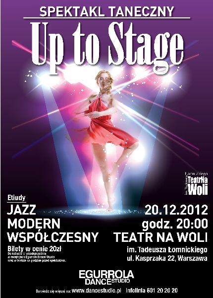 """""""Up to stage"""" w Teatrze Na Woli"""