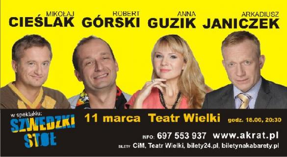 """""""Szwedzki stół"""" w Teatrze Wielkim"""