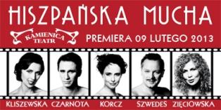"""Premiera """"Hiszpańskiej Muchy"""" w Teatrze Kamienic"""