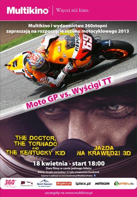 Multikino: Otwarcie sezonu motocyklowego