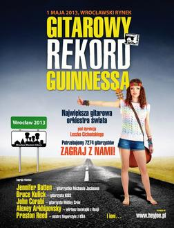 Gitarowy Rekord Guinnessa 2013