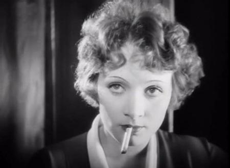 Marlena Dietrich w niemym kinie
