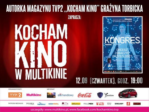 """""""Kongres"""" w ramach Kocham Kino w Multikinie"""