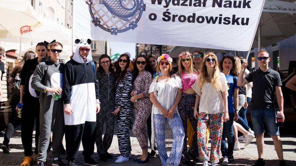 Juwenalia Olsztyńskie Kortowiada 2017: Parada Wydziałów