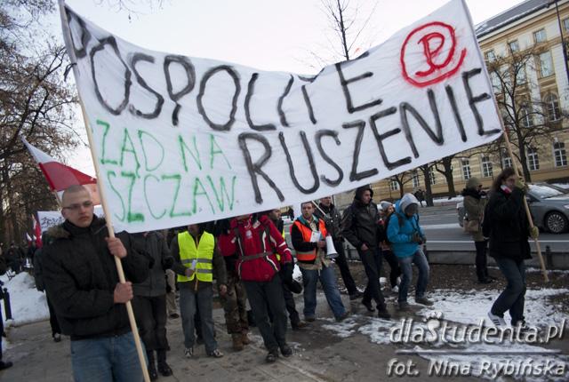 Pospolite Ruszenie - demonstracja antyrządowa