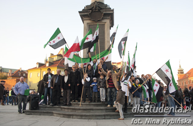 Marsz solidarności z Narodem Syryjskim